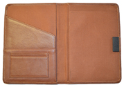 British Tan Bound Leather Journal Cover