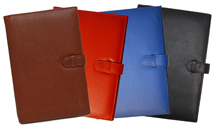 Black, British Tan, Red and Blue Premium Leather Journals